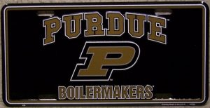 Purdue Boilermakers License Plate