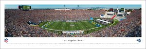 Los Angeles Memorial Coliseum Panoramic Print