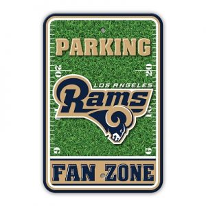 Los Angeles Rams Fan Zone Sign