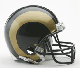 Los Angeles Rams Mini Helmet
