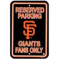 San Francisco Giants Parking Sign