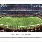 New Orleans Saints Mercedes-Benz Superdome Print