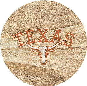 Texas Longhorns Thirstystone Coasters