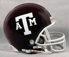 Texas A&M Mini Helmet