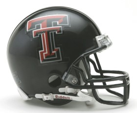Texas Tech Mini Helmet