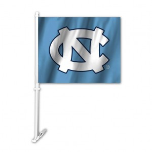 North Carolina car flag