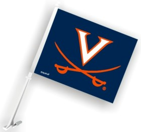 Virginia Cavaliers Car Flag