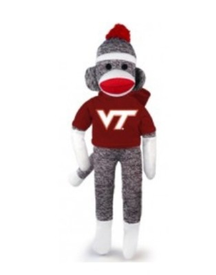 virginia tech sock monkey