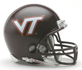 Virginia Tech Mini Helmet