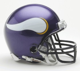 Minnesota Vikings Mini Helmet