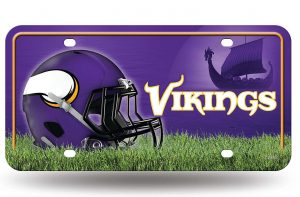 Minnesota Vikings License Plate