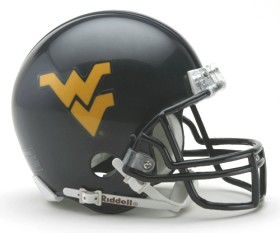 West Virginia Mini Helmet