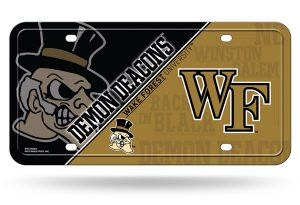 Wake Forest License Plate