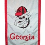 Georgia Bulldogs house flag