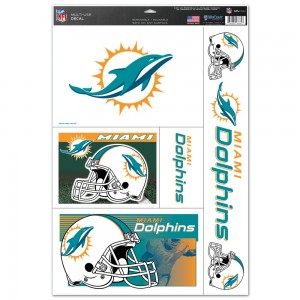 Miami Dolphins Decals