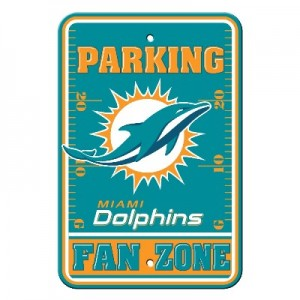 Miami Dolphins Parking Sign