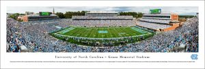 North Carolina Kenan Stadium Panoramic Print