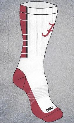Alabama Crew Socks