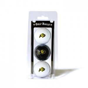 Colorado Buffaloes Golf Balls