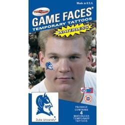 Duke face tattoos