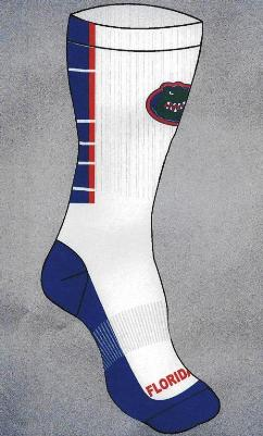 Florida gators crew socks