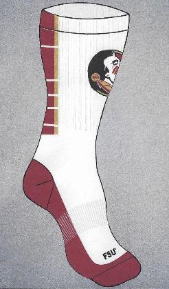 Florida State crew socks