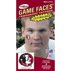 Florida State face tattoos