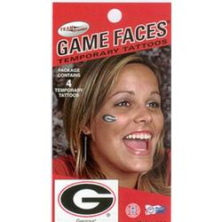 Georgia Bulldogs face tattoos