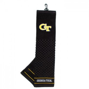 Georgia Tech golf towel