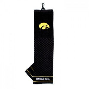 Iowa Hawkeyes golf towel