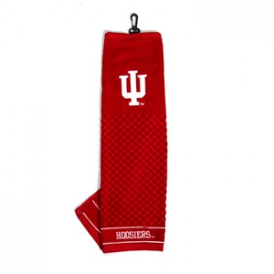 indiana hoosiers golf towel
