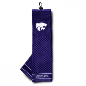 kansas state golf towel