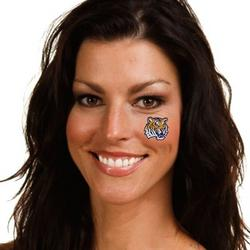lsu face tattoos