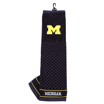 Michigan golf towel