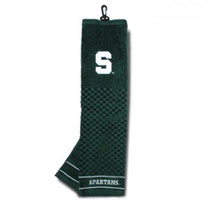 Michigan State golf towel