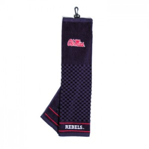 Ole Miss golf towel
