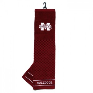 mississippi state golf towel