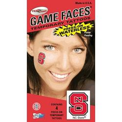 NC State face tattoos