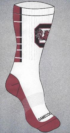 South Carolina Gamecocks Socks