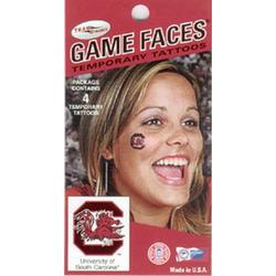 South Carolina Face Tattoos