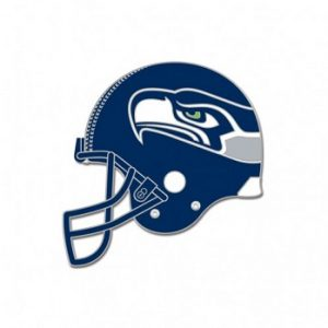Seattle Seahawks lapel pin