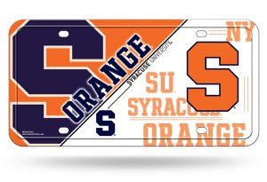 Syracuse License Plate