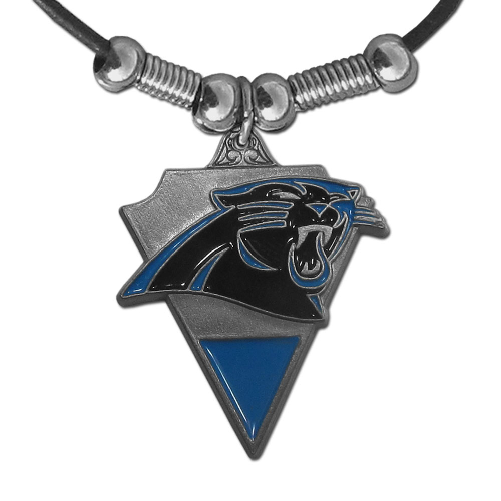 carolina panther jewelry carolina panthers necklace we re sports 9408