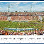 Virginia Scott Stadium Print