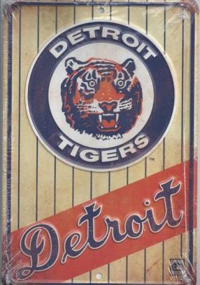 Detroit Tigers Vintage Sign
