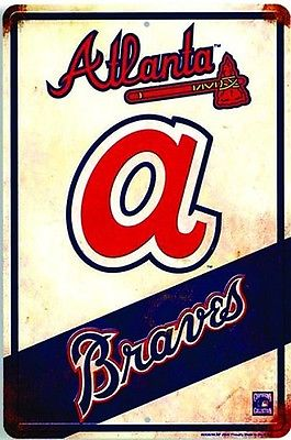 Atlanta Braves vintage sign
