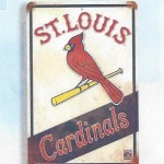St. Louis Cardinals vintage sign