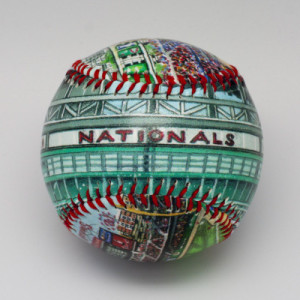 Nationals Park Commemorative Baseball