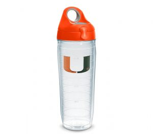 Miami Hurricanes Water Bottle