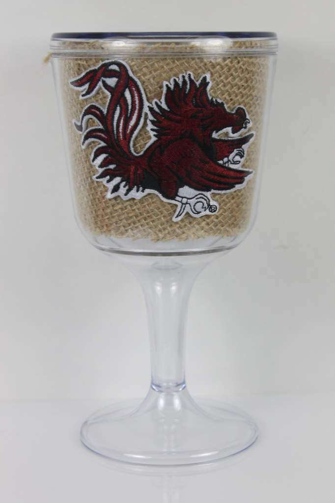 South Carolina Gamecocks goblet